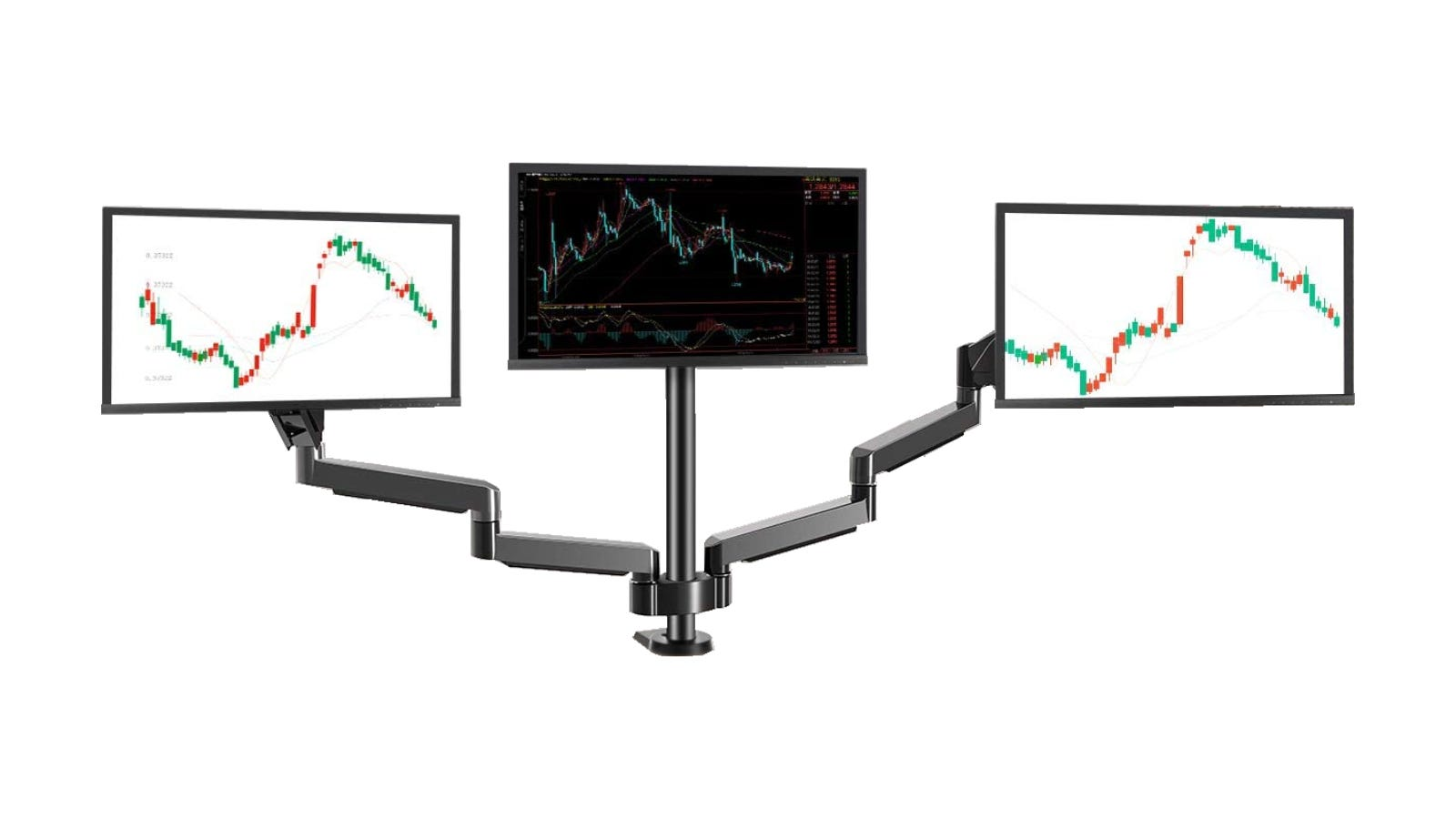 MOUNTUP Triple Monitor Stand