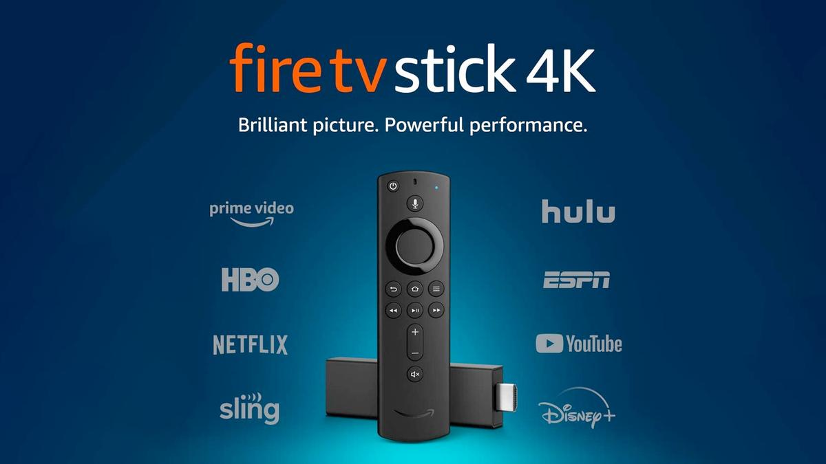 The Fire TV Stick 4K