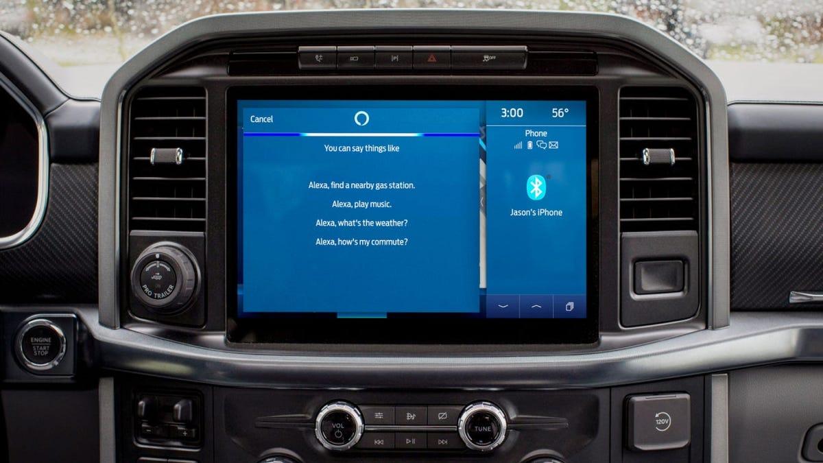 Ford Sync Alexa hands-free