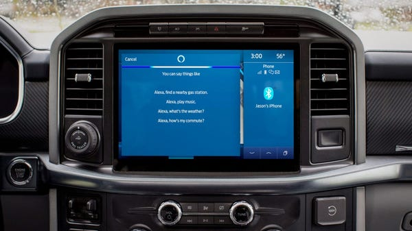 Ford Delivers Its First Over-The-Air Vehicle Updates, With Alexa and More
