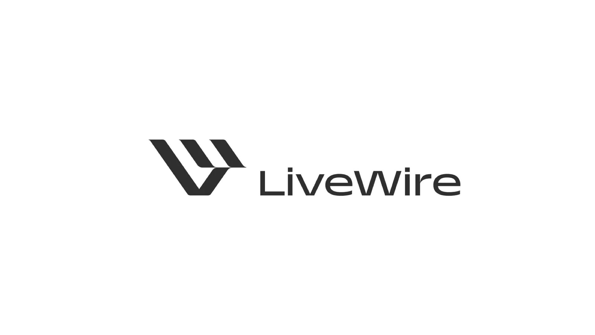 LiveWire Electric Motorcycle brand logo