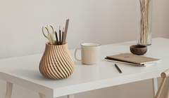 This 3D Printer Uses Sawdust to Make Real Wood Stuff