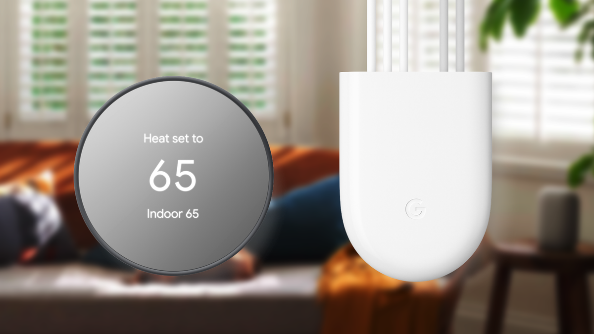 The Google Nest Power Connector Termostat.