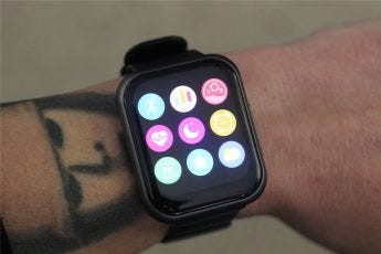 The Wyze Watch 47's app drawer
