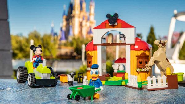 LEGO Debuts Preschooler-Friendly Disney Mickey and Friends Sets