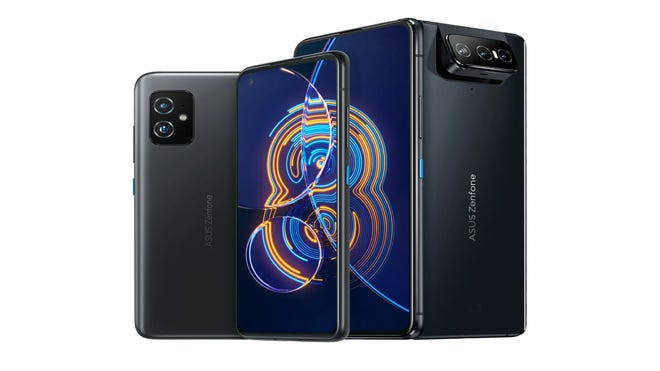 ASUS Flips Out Two New Zenfone 8 Models, One Will Fit in Your Hand!