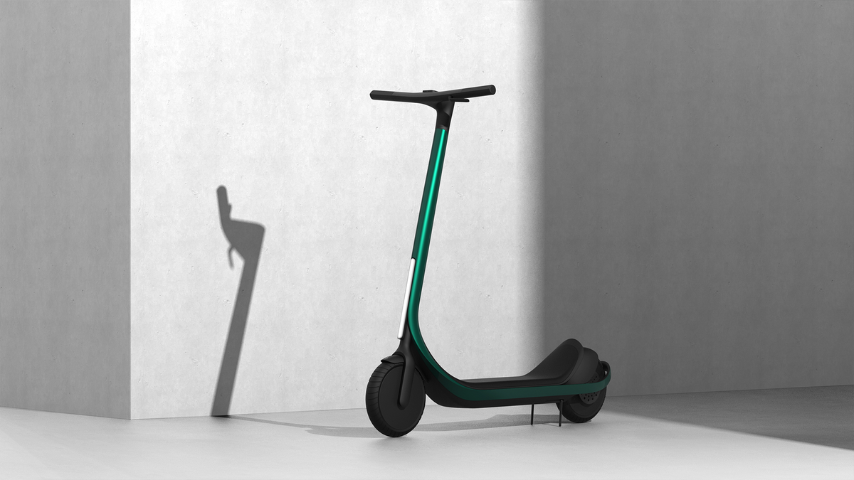 The Scotsman electric scooter.