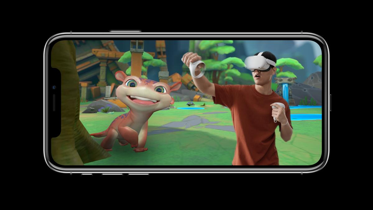 Oculus Mixed Reality overlay