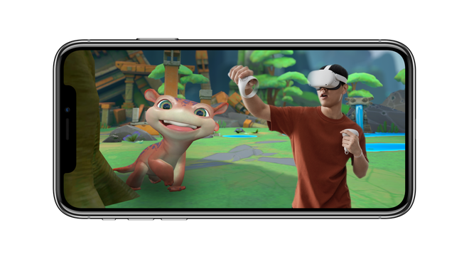 Oculus Quest Update Puts You Inside Games With Just an iPhone