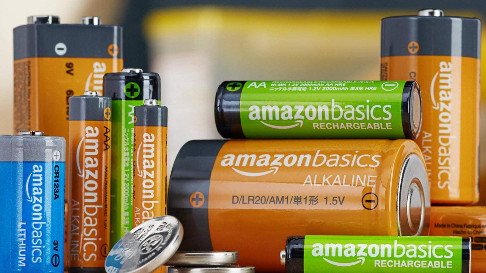Amazon Basic Batteries