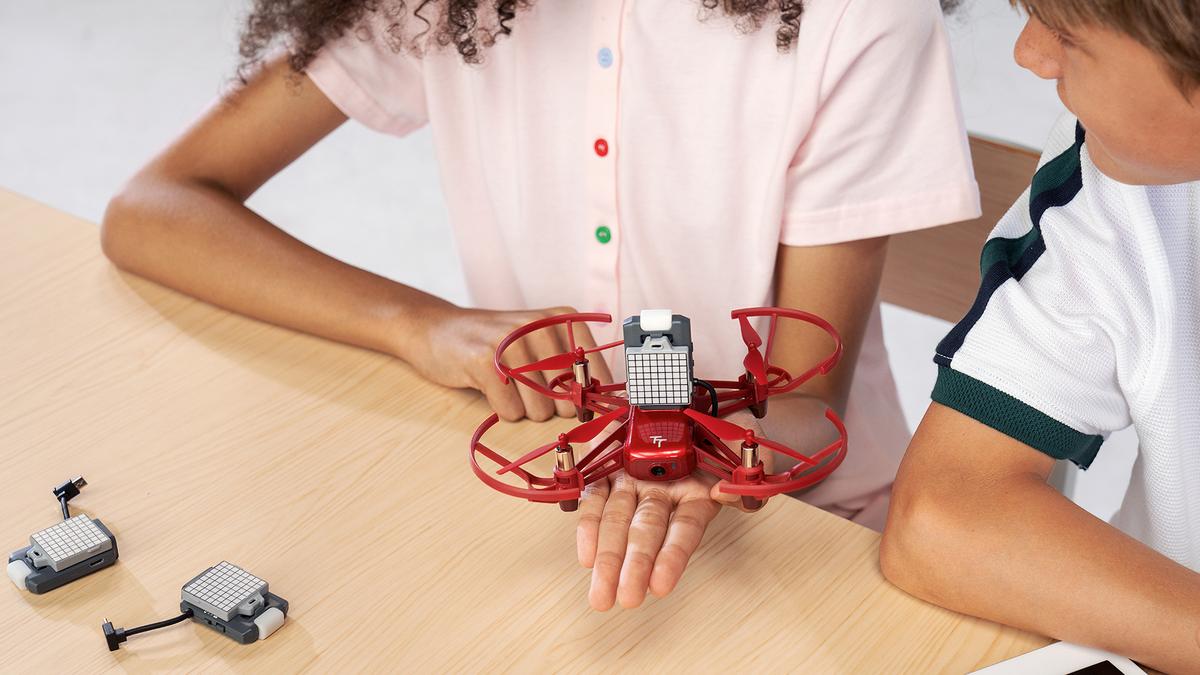 The DJI RoboMaster TT Tello Talent educational drone.