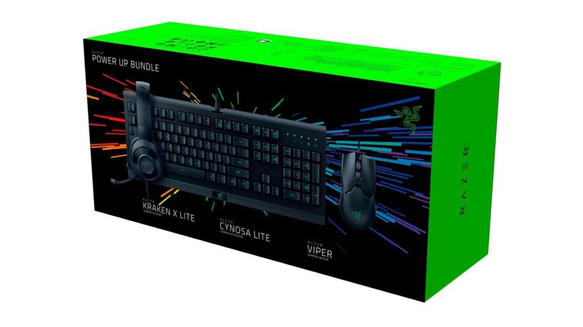 Razer Power UP PC Bundle Box
