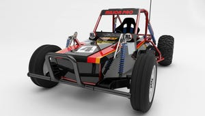 This Adult-Sized Tamiya Wild One RC Car is Fully Electric and Drivable