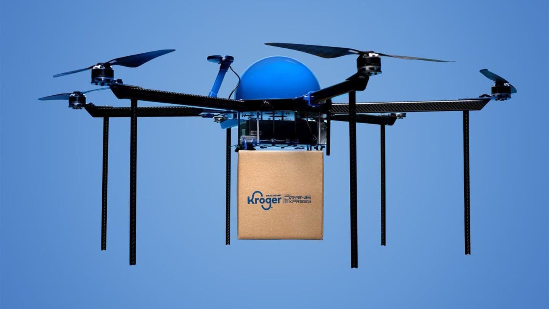 Kroger Is Testing 15-Minute Drone Deliveries in Ohio thumbnail