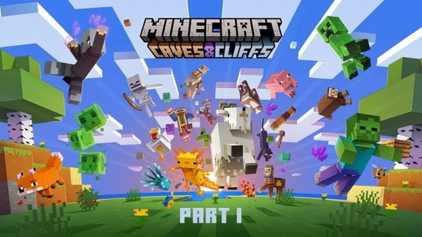 Minecraft 'Caves and Cliffs Update Part 1' Coming June 8th
