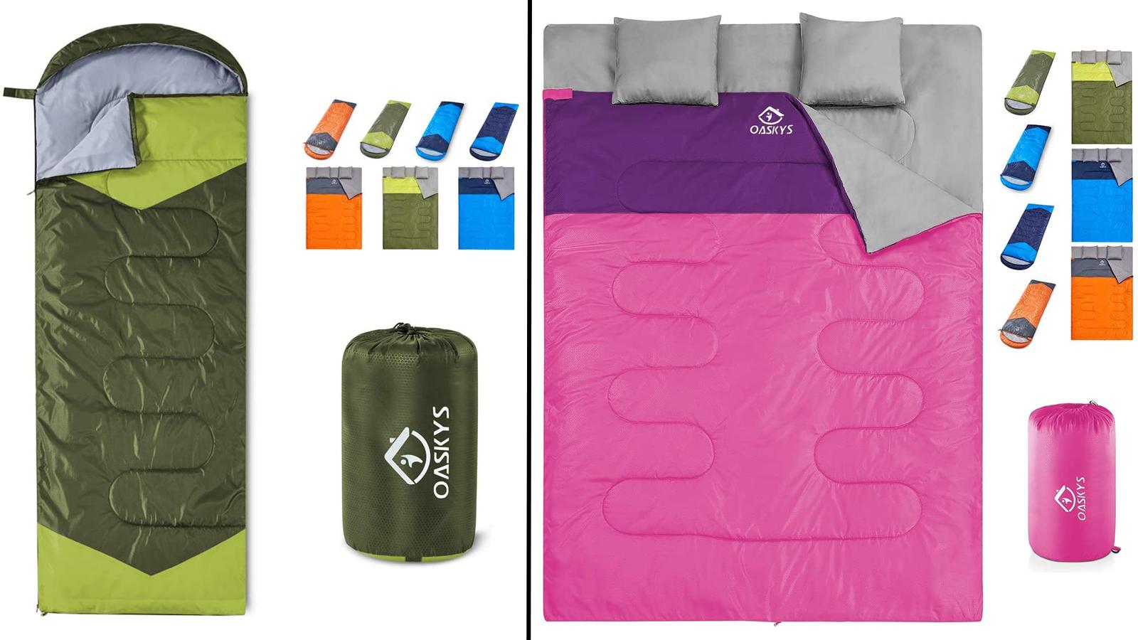 Take This Lightweight Three-Season Sleeping Bag on Your Summer Camping Trip
