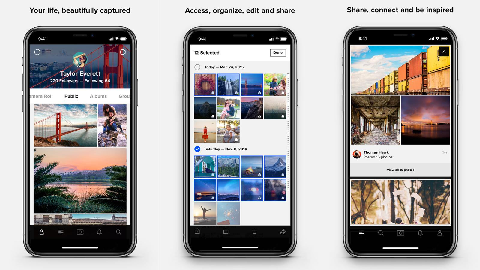 Приложение Flickr Pro для неограниченного хранения фотографий