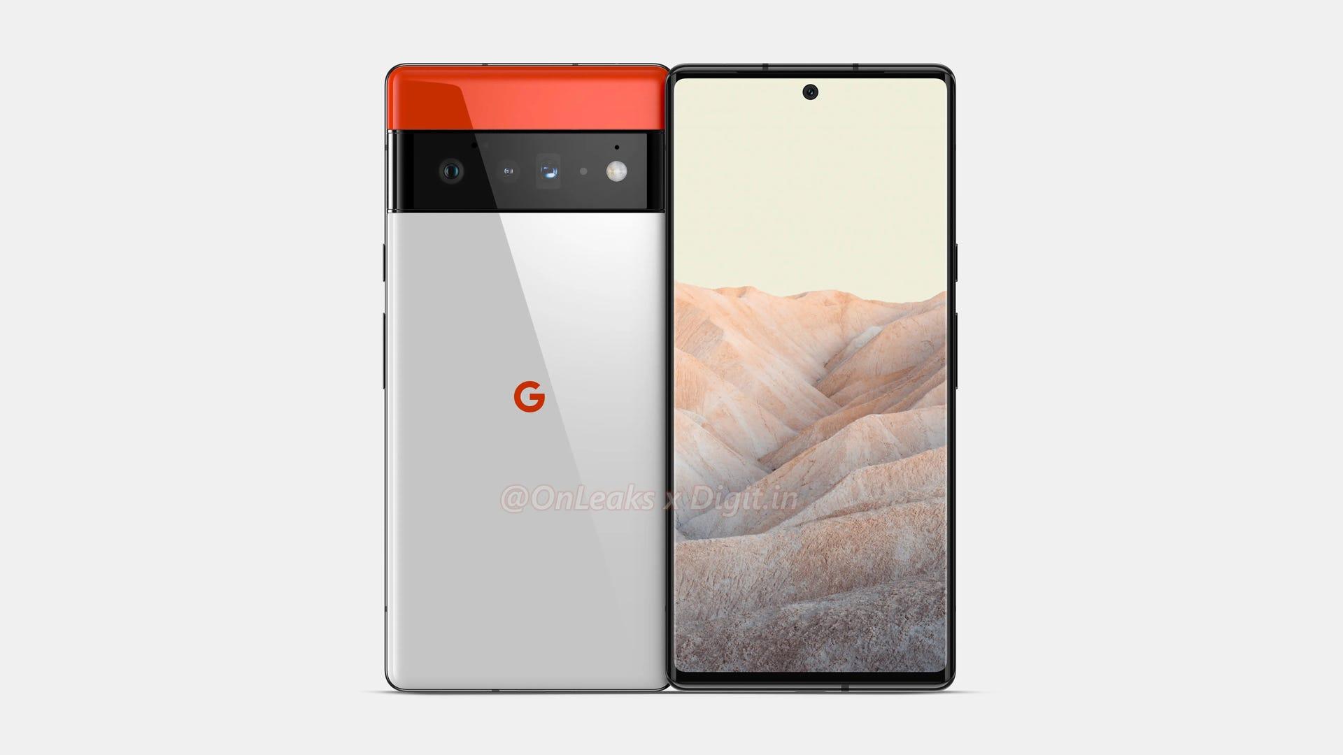 Google Pixel 6 Pro leaked image