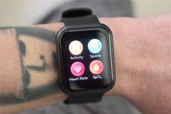 The Wyze Watch 44's app drawer
