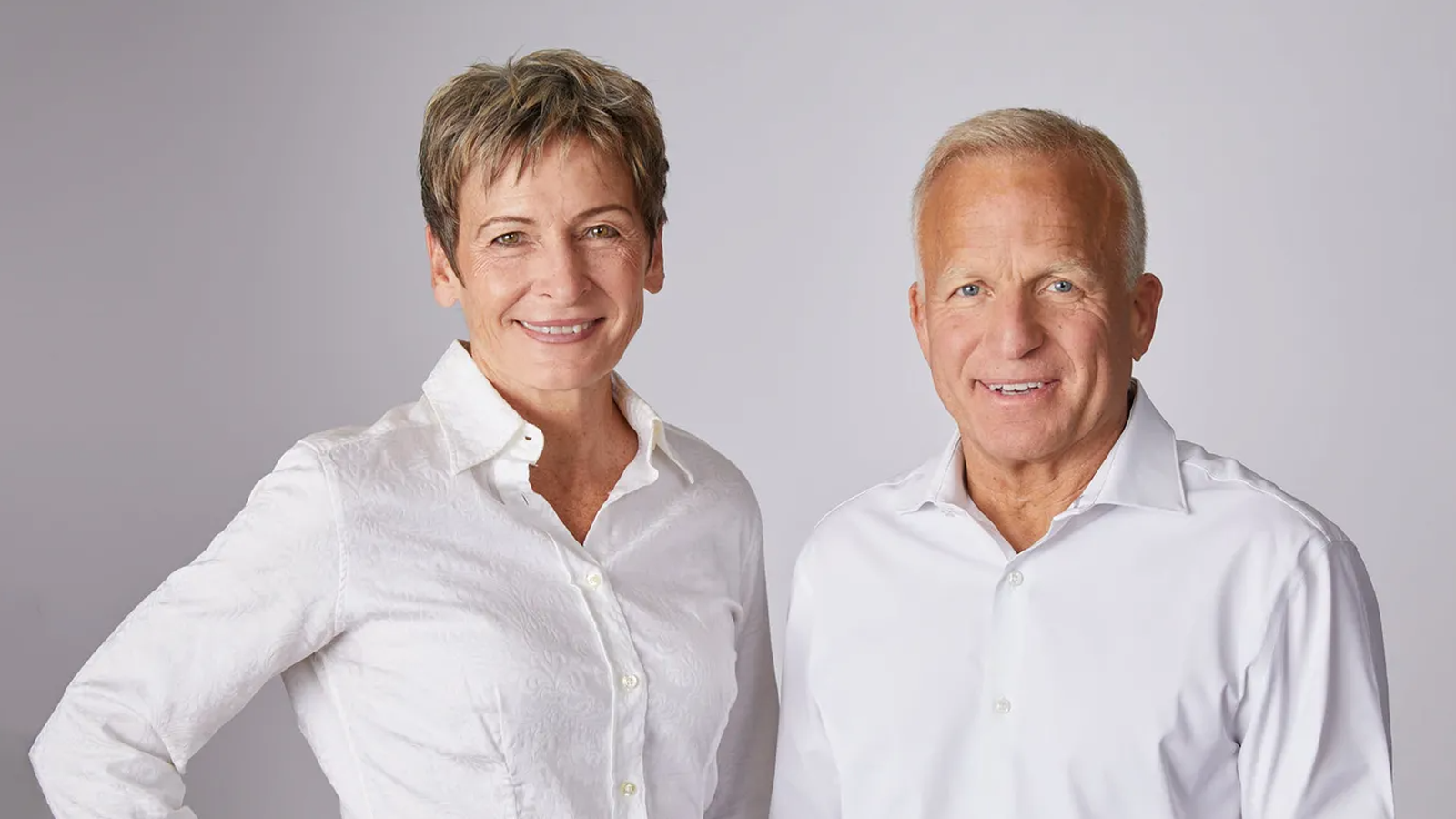 Peggy Whitson and John Shoffner