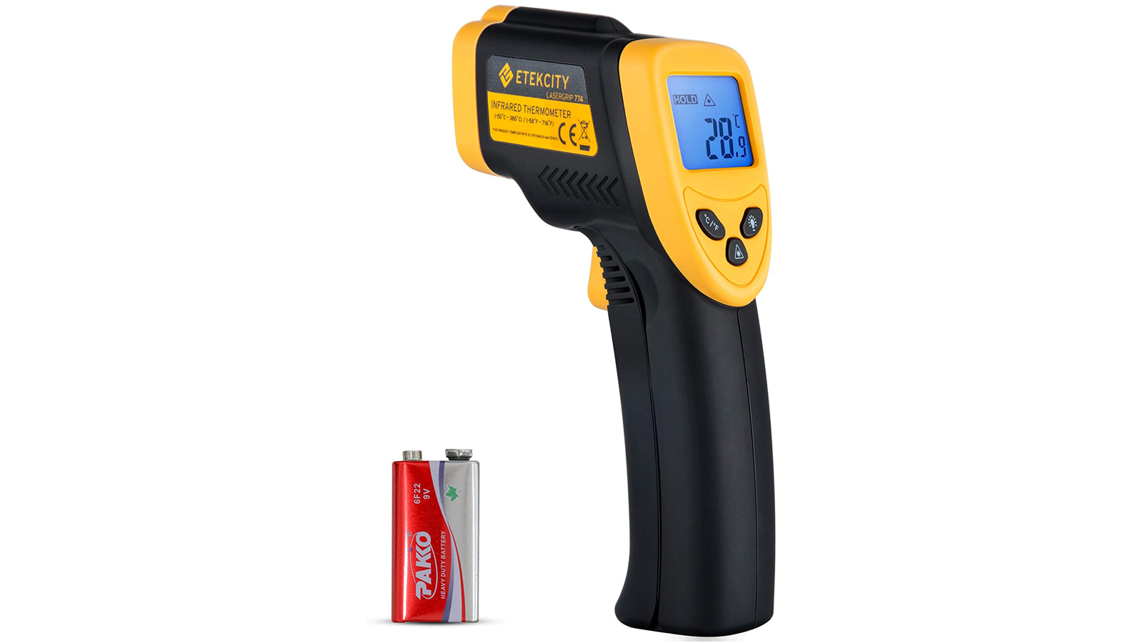 This Infrared Thermometer Temperature Gun Has All Kinds of Uses