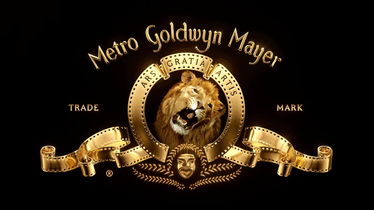 The MGM roaring lion logo.