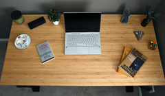 Flexispot Kana Bamboo Standing Desk Review: Sturdy, Quiet, and Gorgeous