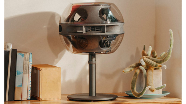 A Former Apple Designer Just Debuted These $1,799 Futuristic Speakers