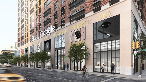 New York will be Home to Google's First Standalone Retail Store