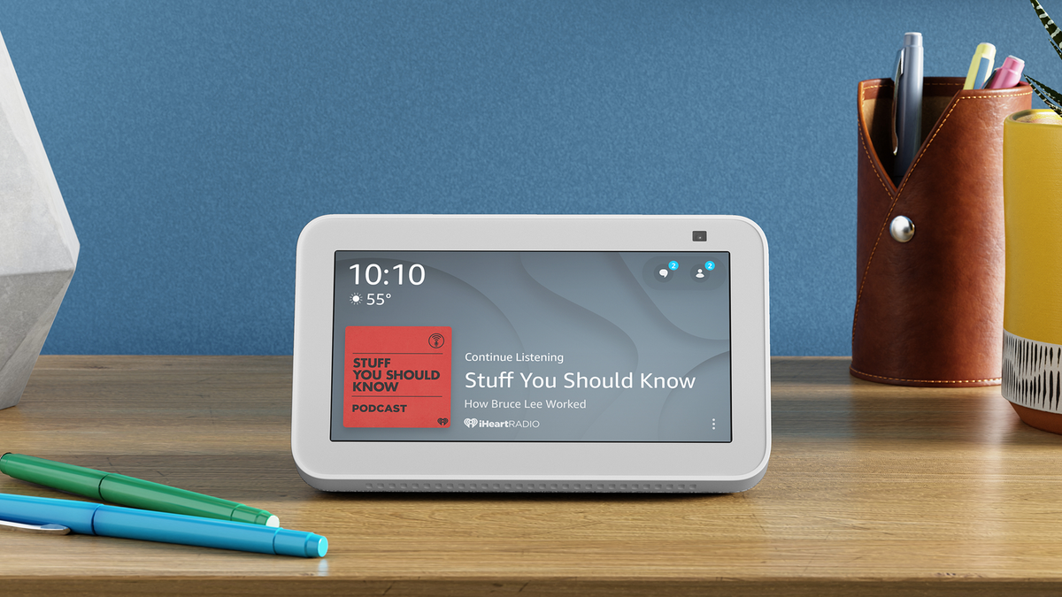The all-new Echo Show 5 smart display.