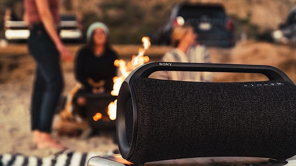 New Sony Portable Speakers Offer Hours of Playback After a 10-Minute Charge