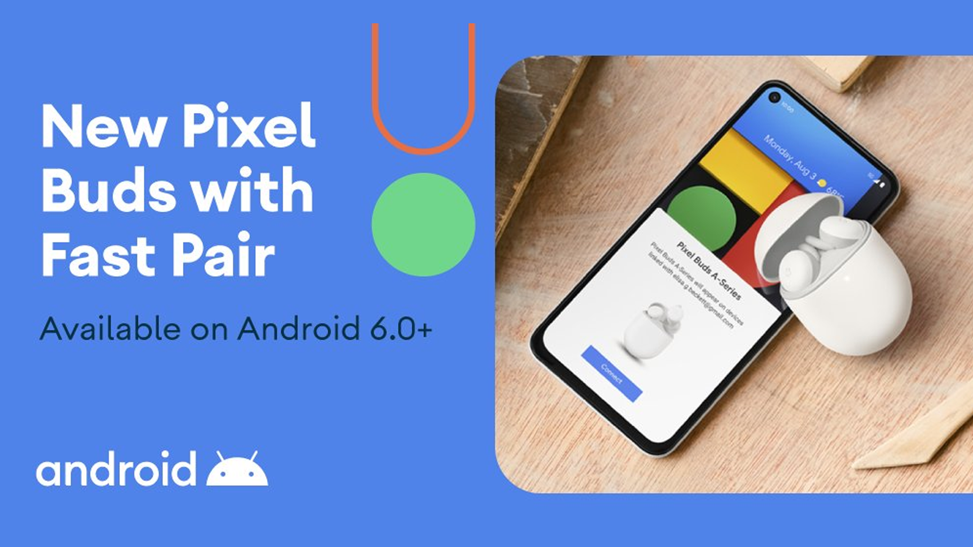 Google Pixel Buds A-Series quick pair