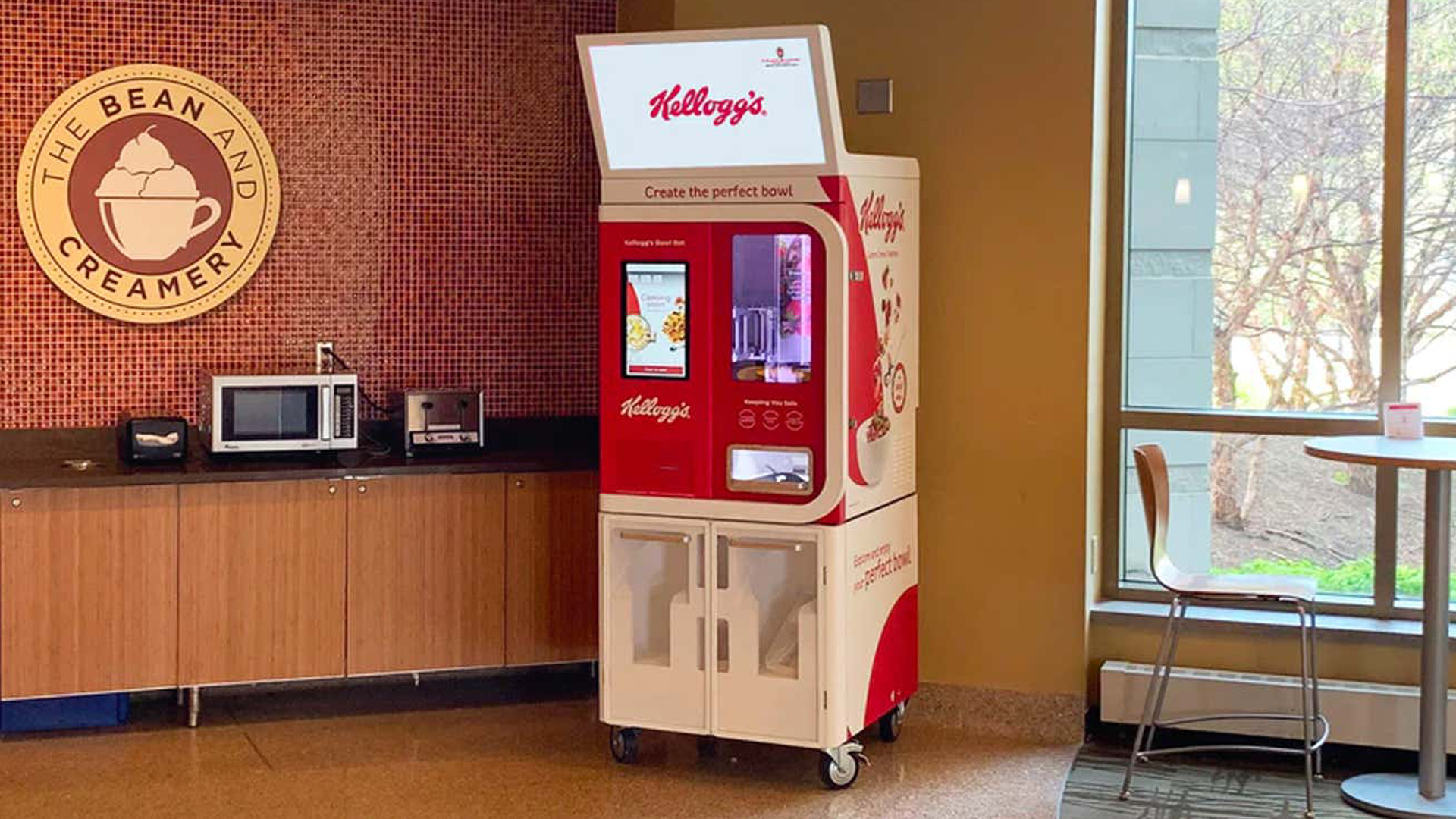 <p>All these Mix-and-Match Kellogg's Cereal Vending Machines Are Carb Heaven thumbnail