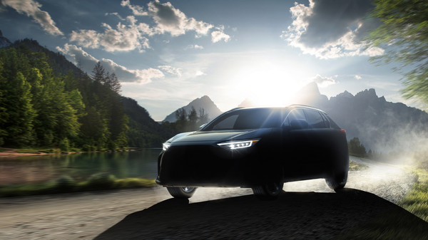 Subaru Teases Its New All-Electric SUV, The Solterra