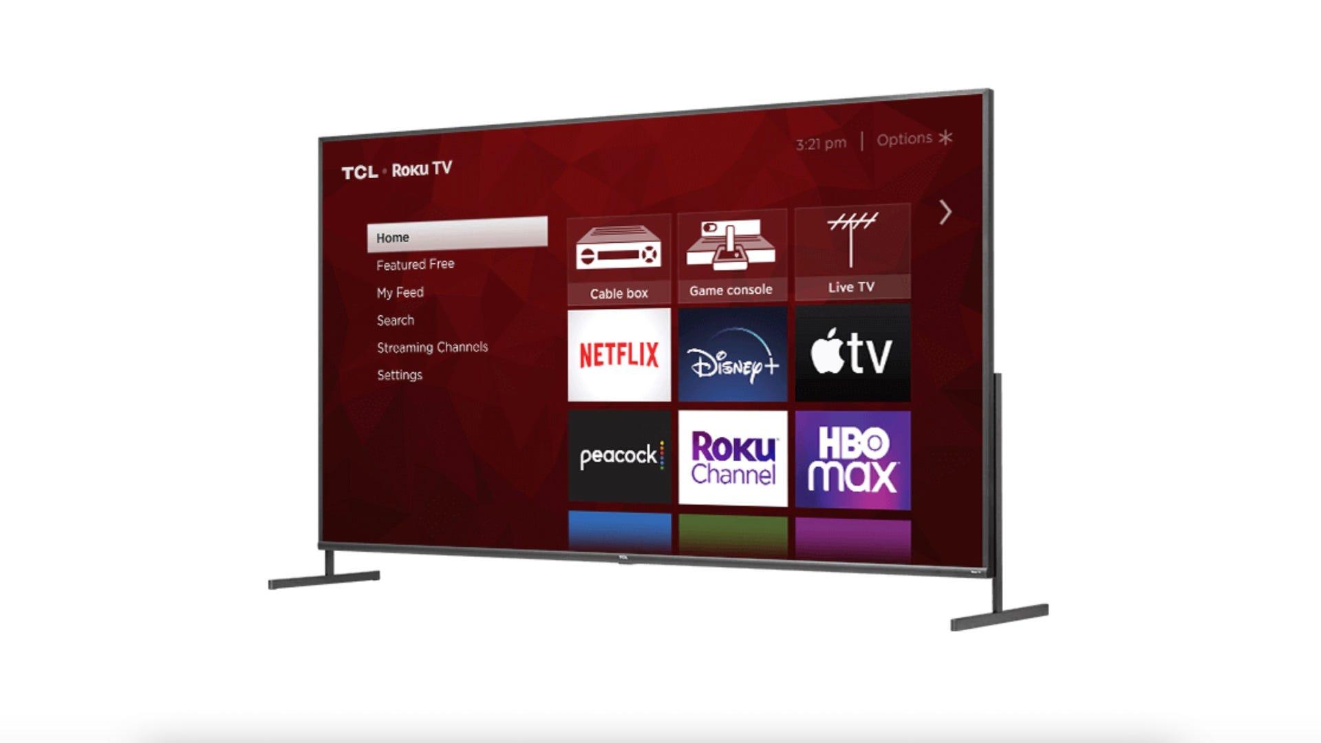 TCL 85-inch Roku TV