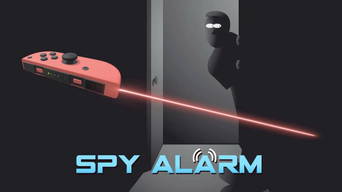 The Sabec 'Spy Alarm' box art
