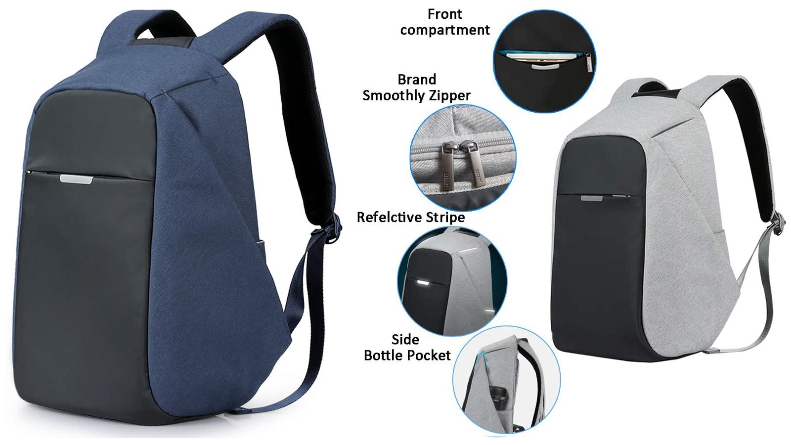 Oscaurt Anti-Theft Laptop Backpack