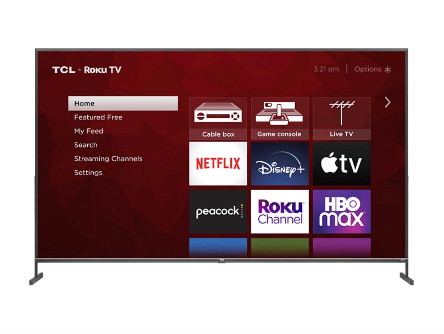 TCL 85-inch 4K Roku TV