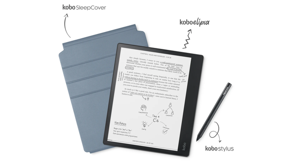 This Giant Kobo Elipsa eReader Lets You Write in Your Virtual Books