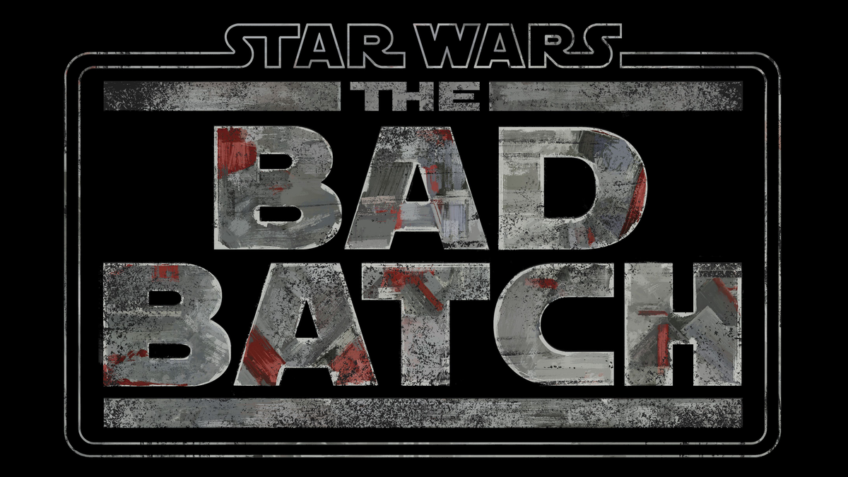 Disney+'s 'The Bad Batch' logo on black background