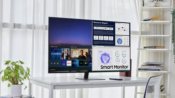 Samsung's Latest PC Smart Monitor is the Size of a TV