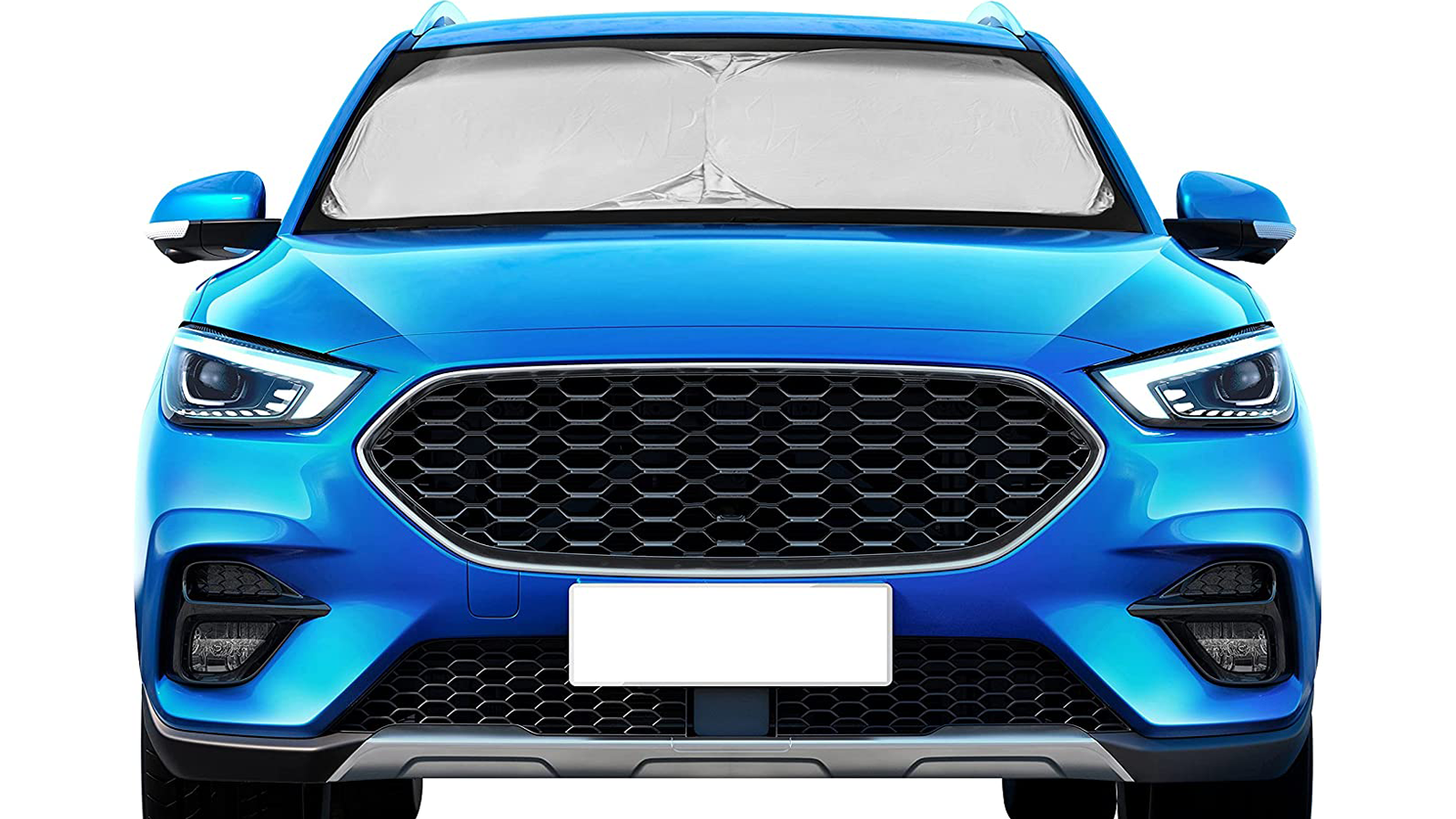 Keep Your Car Cool While Parked with This Windshield Sun Shade