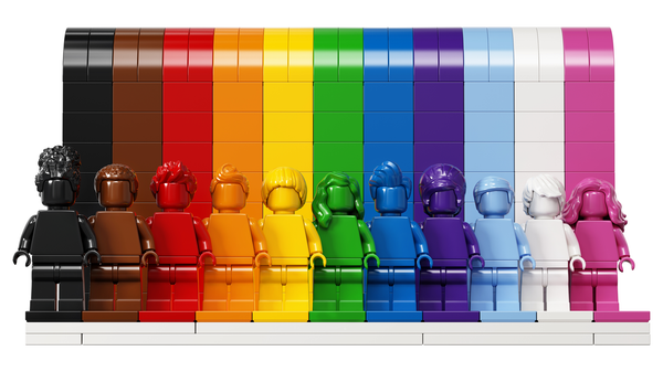 """Celebrate Global Diversity with LEGO's New """"Everyone is Awesome"""" Set"""