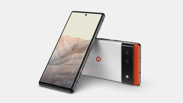 """Pixel 6 Leaks Show a 6.4-inch Display for the """"Small"""" Phone"""