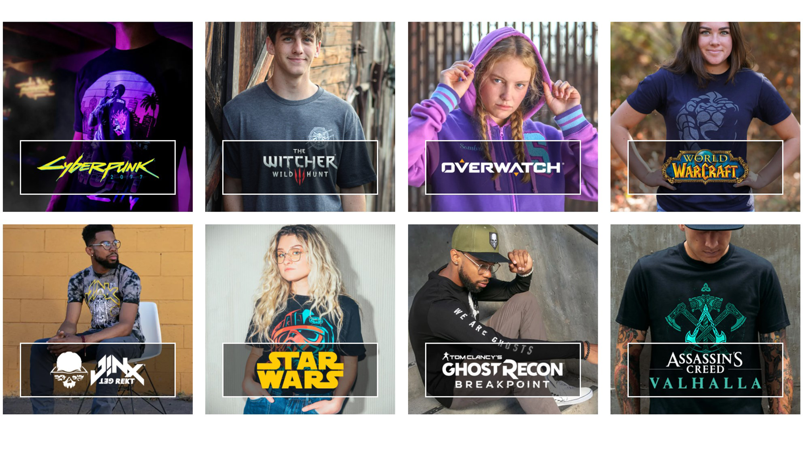 Jinx, an online store for buying video game merch