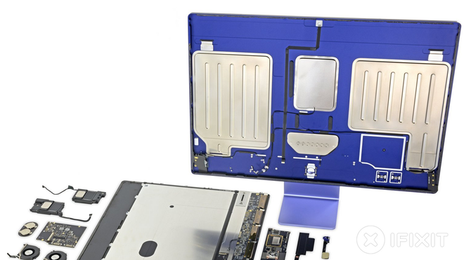 No Surprise! iFixit Teardown Shows the M1 iMac is Non-Upgradeable, Nearly Unrepairable