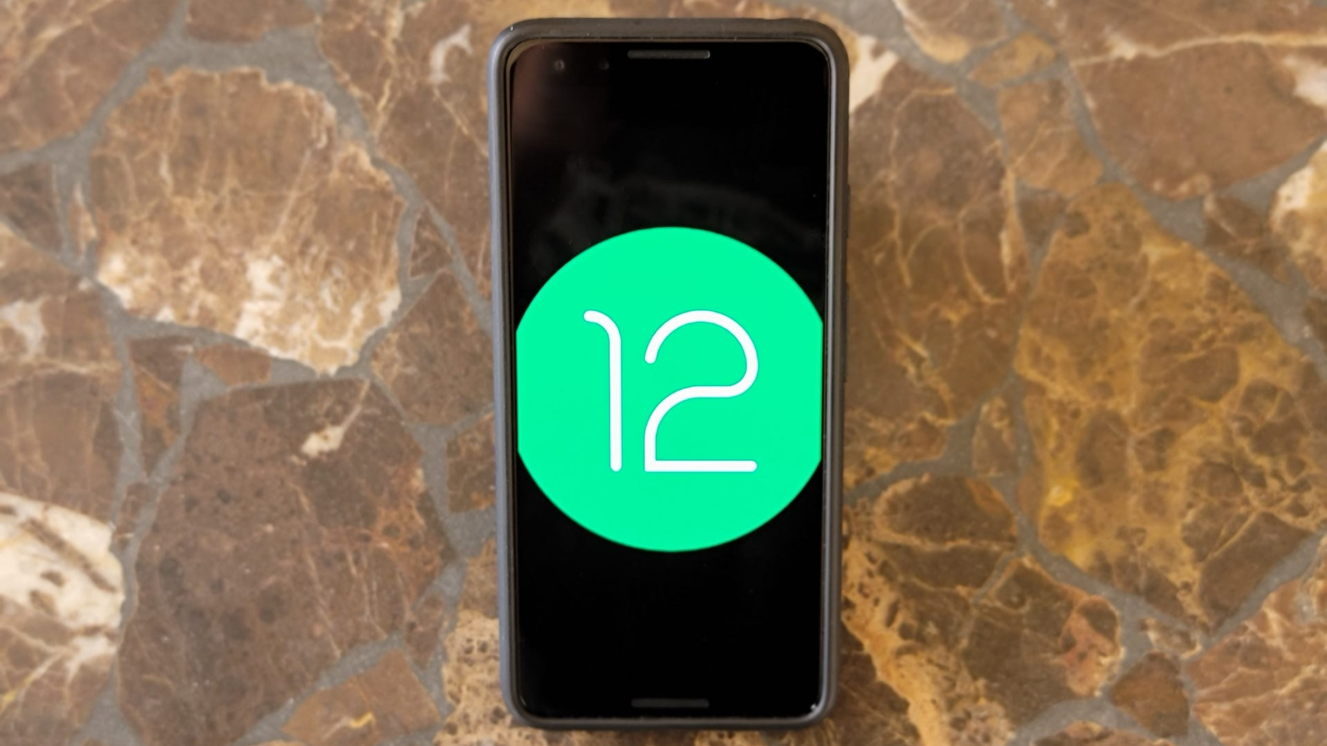 Android 12 beta on the Pixel 3