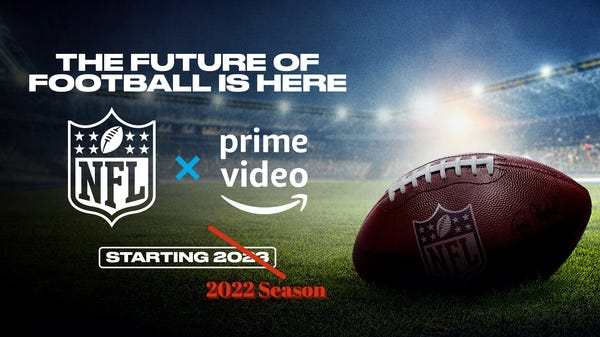 Amazon Scores 'Thursday Night Football' Rights a Year Early