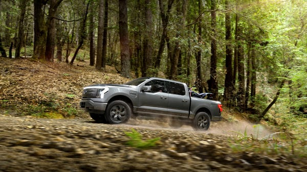 Ford's F-150 Lightning Electric Truck is Official, Starting at Under $40k