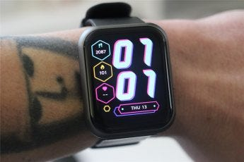 The watch face on the 47